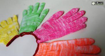 ถุงมือผ้า ของชินะซัพพลาย ผลิตจากวัตถุดิบคุณภาพสูง มาตรฐานส่งออก