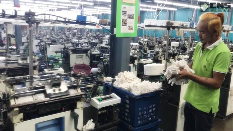 กระบวนการผลิตถุงมือผ้าฝ้าย ของชินะซัพพลาย
