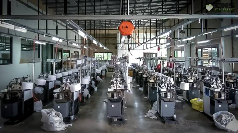 โรงงานผลิตถุงมือผ้า